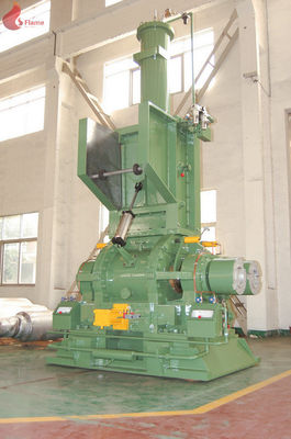 220KW DOP Seal  Drop Type Internal Mixer Machine 100L 1000kg/h Rotor chrome plated